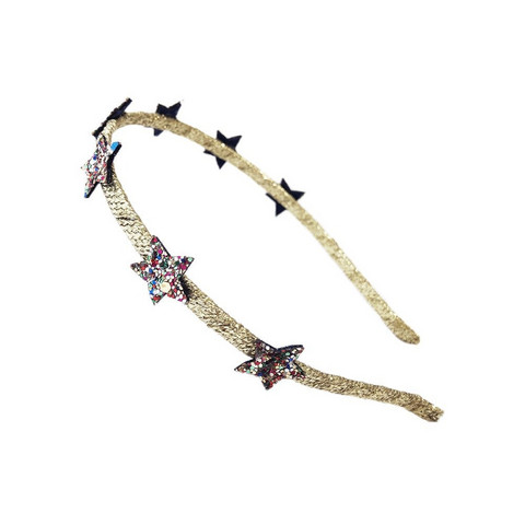 Hiuspanta, Rockahula KIDS|Bedazzle Glitter Star Head Band Multi
