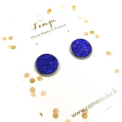 LEMPI-korvanapit, Veera (metallinhohtoinen sininen, S)