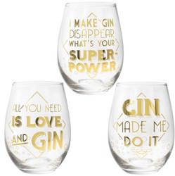 Ginilasi, Gin Quotes (kolme erilaista tekstiä)
