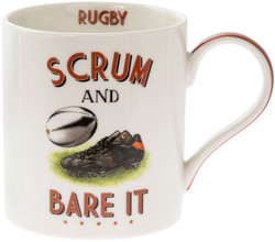 Muki, Rugby/Scrum and Bare it