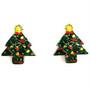 Joulukorvakorut, Joulukuusi (nappi)