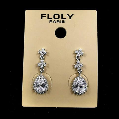 Kristallikorvakorut/FLOLY Paris, Sylvie (kirkas pisara)