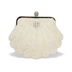 Iltalaukku,  ROMANCE|Shell Shaped Eveningbag with Pearls