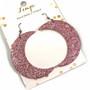 LEMPI-korvakorut, Kuu (vaaleanpunainen glitter)