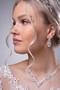 Strassikorvakorut,  Graceful Lace Earrings
