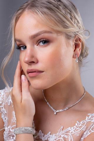 Strassikorvakorut, Mini Teardrop Earrings