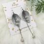 LEMPI-korvakorut, Kalla (hopea glitter, juhlamalli)