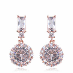 Juhlakorvakorut, ROMANCE/Drop Earrings in Rosegold