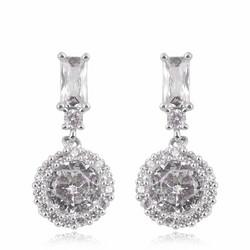 Juhlakorvakorut, ROMANCE/Drop Earrings in Silver