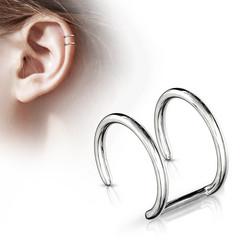 Korvakoru/kiipijä, Non-Piercing Cartilage in Silver