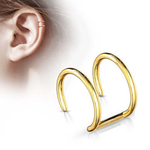 Korvakoru/kiipijä, Non-Piercing Cartilage in Gold