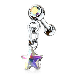 Rustokoru/traguskoru, Star Crystal Dangle AB