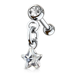 Rustokoru/traguskoru, Star Crystal Dangle