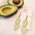 LEMPI-korvakorut, Lehdet (vaaleanvihreä, siro 2-os)