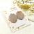 LEMPI-korvanapit, Tulppaani (ruusukulta glitter)