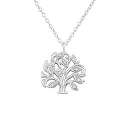 Hopeinen kaulakoru, Delicate Tree of Life