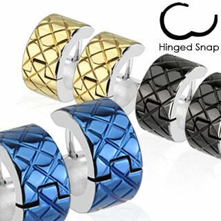 Kirurginteräsrenkaat, Grooved Diamond Grids