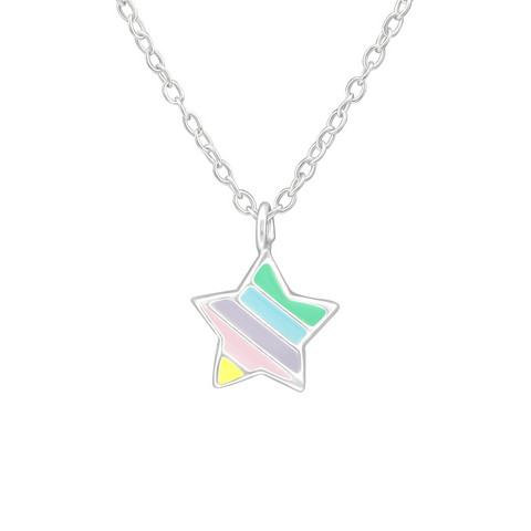 Hopeinen kaulakoru, Rainbow Star