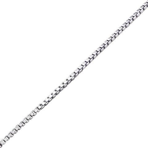 Hopeinen riipusketju,  Venice Chain 45cm