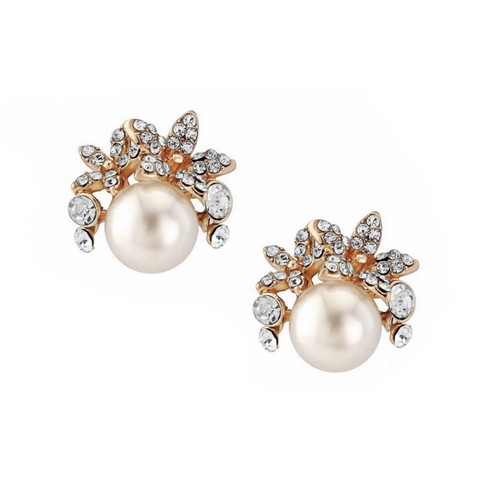 Helmikorvakorut, ATHENA BRIDAL JEWELLERY|Chic Pearl Earrings
