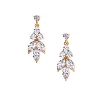 Kristallikorvakorut, ATHENA BRIDAL Dainty Sparkle Drop Earrings