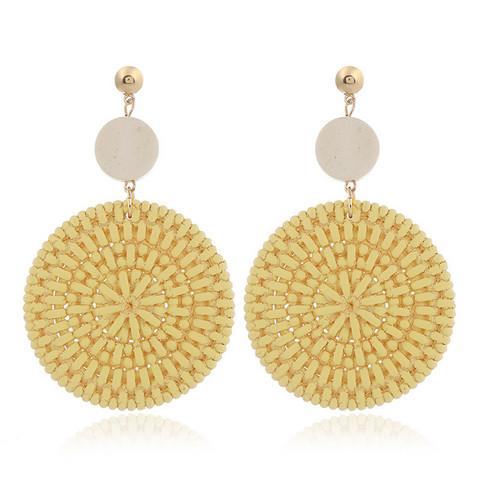 Korvakorut, Yellow Summer Earrings