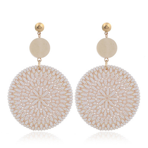 Korvakorut, White Summer Earrings