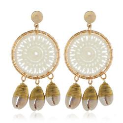 Korvakorut, White Lace Dream Catcher Earrings