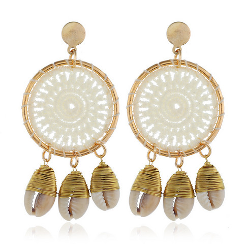 Korvakorut, White Lace Dream Catcher Earrings