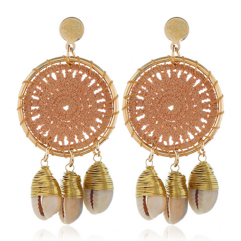 Korvakorut, Beige Lace Dream Catcher Earrings