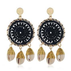 Korvakorut, Black Lace Dream Catcher Earrings