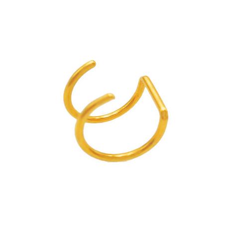 Kiipijä/Ear Cuff, Non-Piercing Cartilage in Gold