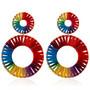 Korvakorut, Rainbow Holiday Earrings