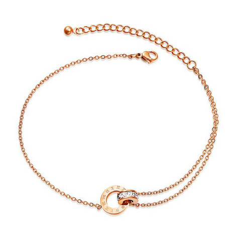 Nilkkakoru|HOLIDAY COLLECTION, Chic Rosegold Anklet