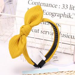 Hiuspanta|SUGAR SUGAR, Yellow Bow -keltainen hiuspanta