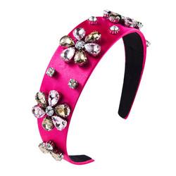 Hiuspanta|SUGAR SUGAR, Multicolor Crystals in Pink -pinkki hiuspanta