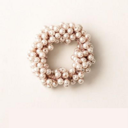 Donitsi/Scrunchie|SUGAR SUGAR, Pearls in Lilac -scrunchie