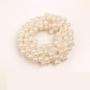 Donitsi/Scrunchie|SUGAR SUGAR, Pearls in White-scrunchie