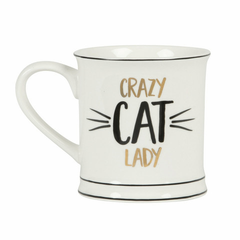 Muki, Sass & Belle|Crazy Cat Lady Mug