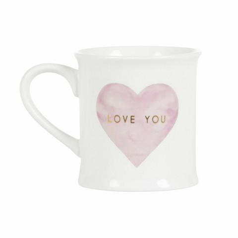 Muki, Sass & Belle|Love You Pastel Pink Heart