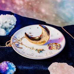 Korulautanen, Sass & Belle|Celestial Trinket Dish