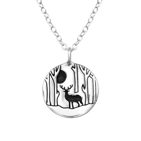 Hopeinen kaulakoru, King of the Forest