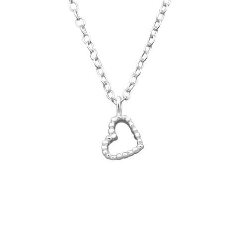 Hopeinen kaulakoru, Small Pretty Heart -pieni hopeinen sydän