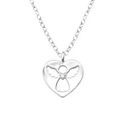Lasten hopeinen kaulakoru, Silver Angel -suojelusenkeli