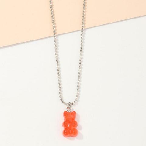 Kaulakoru, Orange Red Gummy Bear -punainen nallekarkki