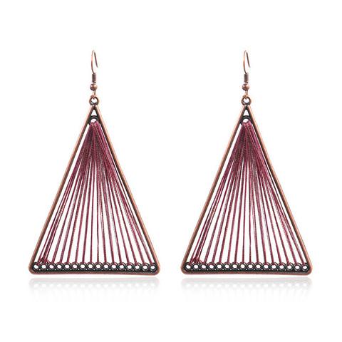 Korvakorut, Retro Bohemian Earrings in Purple