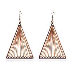 Korvakorut, Retro Bohemian Earrings in Brown