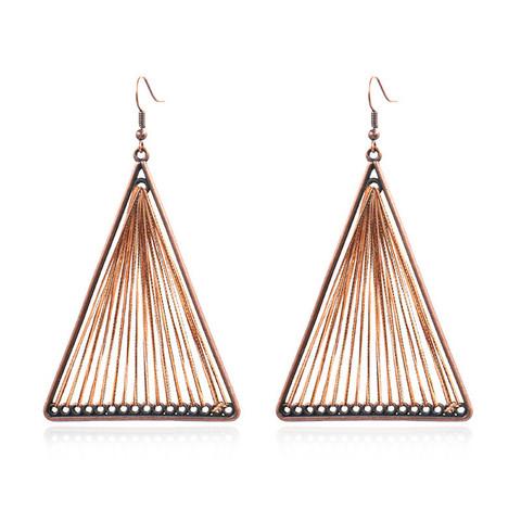 Korvakorut, Retro Bohemian Earrings in Brown