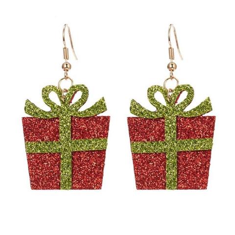 Joulukorvakorut, Red Christmas Present -punainen joulupaketti