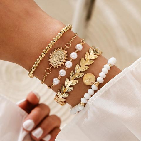 Rannekorusetti, FRENCH RIVIERA|Classic Gold Bracelets